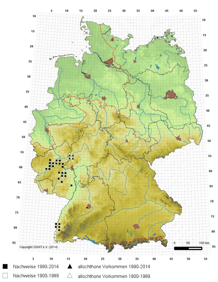 Kaiserstuhl Karte